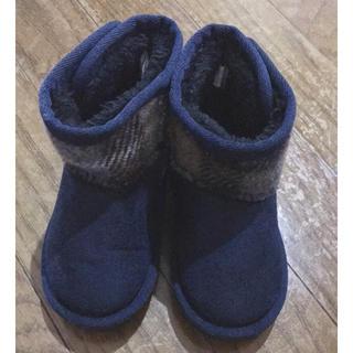 シマムラ(しまむら)のムートンブーツ 14cm(ブーツ)