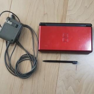 ニンテンドーDS(ニンテンドーDS)のニンテンドー DS ライト  Lite 本体 赤 レッド (家庭用ゲーム機本体)