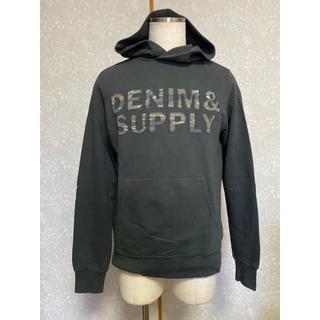 デニムアンドサプライラルフローレン(Denim & Supply Ralph Lauren)の《デニム&サプライ》カモフラロゴプルオーバーパーカー【42】(パーカー)