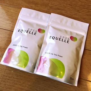オオツカセイヤク(大塚製薬)の【新品未開封 新品】EQUELLE エクエルパウチ 2袋セット(ビタミン)