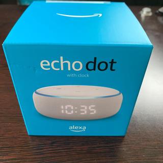 エコー(ECHO)の【新品】Amazon Echo Dot with clock(スピーカー)
