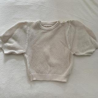 ボンポワン(Bonpoint)のsoor ploom mini knit puff♡(ニット/セーター)