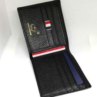 カード磁気漏れ防止機能付 牛革二つ折り財布 BISONDENIM(折り財布)