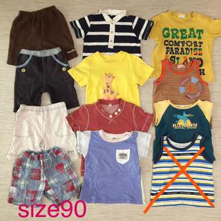サンカンシオン(3can4on)の男の子夏服  90サイズ  11点セット(Tシャツ/カットソー)
