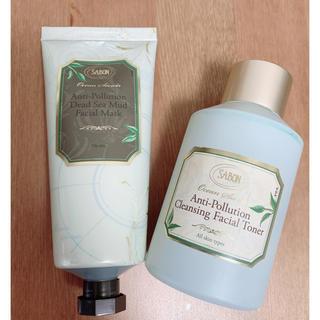 サボン(SABON)のフェイシャルマスク&拭き取り化粧水(化粧水/ローション)