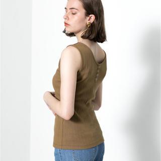 センスオブプレイスバイアーバンリサーチ(SENSE OF PLACE by URBAN RESEARCH)の2way ノースリーブ(Tシャツ(半袖/袖なし))