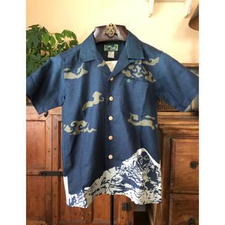 モンベル(mont bell)の【新品】モンベル  TAKEロハ アロハシャツ XS(シャツ)