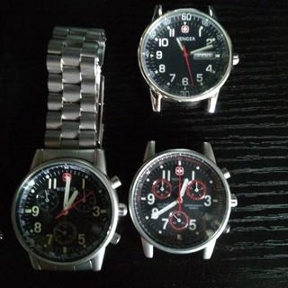 ウェンガー(Wenger)のジャンク時計6個セット ウェンガー スイスミリタリー セイコー (腕時計(アナログ))
