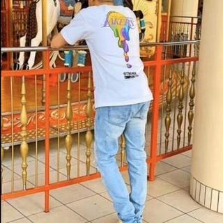 ミッチェルアンドネス(MITCHELL & NESS)の新品 限定品 村上隆×LAYKERS×Michell&ness Mサイズ(Tシャツ/カットソー(半袖/袖なし))