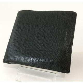 ブルガリ(BVLGARI)のBVLGARI ブルガリ メンズ 折財布 ブラック(折り財布)