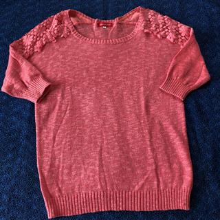 アプワイザーリッシェ(Apuweiser-riche)のサマーニット セーター(Tシャツ(半袖/袖なし))
