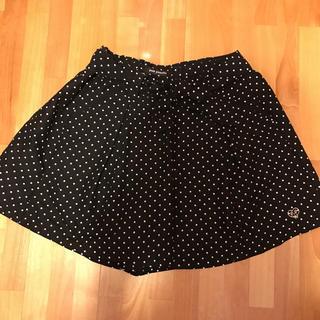 pom ponette - 美品【ポンポネット】黒×白ドット柄キュロット(L160)キュロット スカート