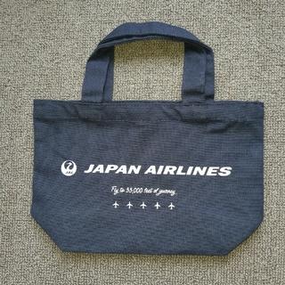 ジャル(ニホンコウクウ)(JAL(日本航空))のJAL ミニトートバッグ(ノベルティグッズ)