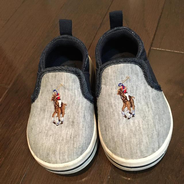 POLO RALPH LAUREN(ポロラルフローレン)のPOLO ベビーシューズ 13.5センチ キッズ/ベビー/マタニティのキッズ靴/シューズ(15cm~)(スニーカー)の商品写真