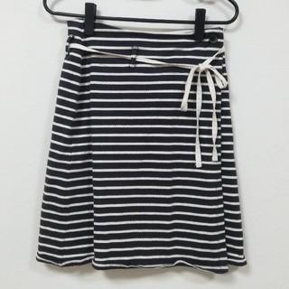 ムジルシリョウヒン(MUJI (無印良品))のラップタイトスカート(ひざ丈スカート)