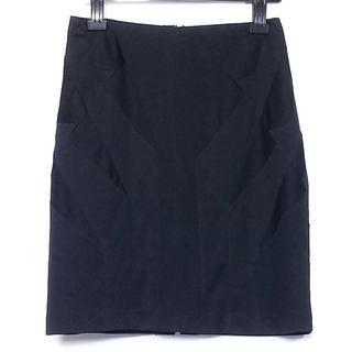 アンダーカバー(UNDERCOVER)のアンダーカバー ミニスカート サイズM 黒(ミニスカート)