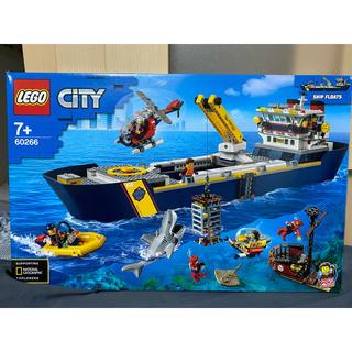 レゴ(Lego)のレゴ シティ 60266 海の探検隊 海底探査船(知育玩具)