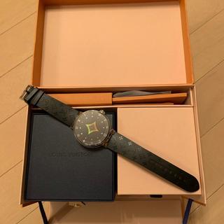 ルイヴィトン(LOUIS VUITTON)のLVコネクテッド ウォッチ タンブール ホライゾン V2(腕時計(デジタル))