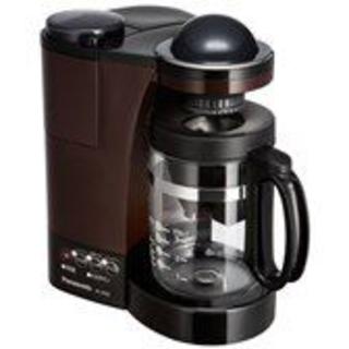 パナソニック(Panasonic)の新品未使用パナソニック NC-R500-T ミル付き浄水コーヒーメーカー(コーヒーメーカー)