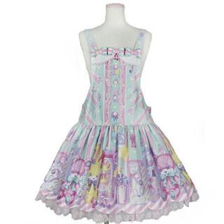 アンジェリックプリティー(Angelic Pretty)のangelic pretty toy doll box サロペット ミント(その他)