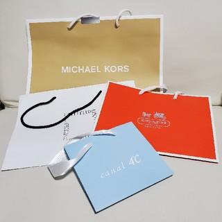 マイケルコース(Michael Kors)のMICHAEL KORS COACH UNITED 4℃ ショップ袋(ショップ袋)