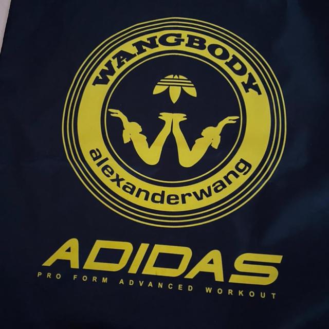 Alexander Wang(アレキサンダーワン)のアレキサンダーワン adidas コラボ ナイロントート メンズのファッション小物(その他)の商品写真