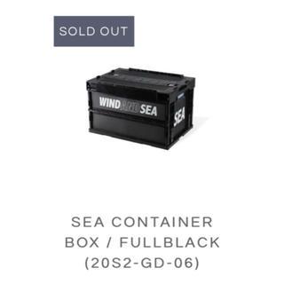 シー(SEA)のWIND AND SEA  SEA CONTAINER BOX即完売(その他)