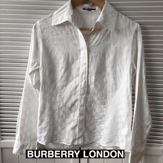 バーバリー(BURBERRY)のBURBERRY  LONDONの長袖シャツ★サイズ40山陽商会(シャツ/ブラウス(長袖/七分))