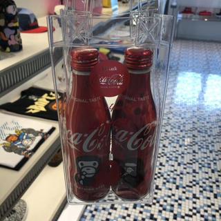 アベイシングエイプ(A BATHING APE)のBAPE  &Coca Cola ノベルティ 2本セット コカコーラ 250ml(ソフトドリンク)