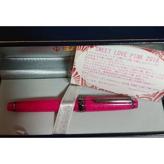 セーラー(Sailor)のブングボックス 万年筆 Sweet Love Pink2018 EF(ペン/マーカー)