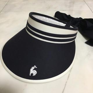 ルコックスポルティフ(le coq sportif)のle coq sportif ルコック テニス ゴルフ サンバイザー 帽子(その他)