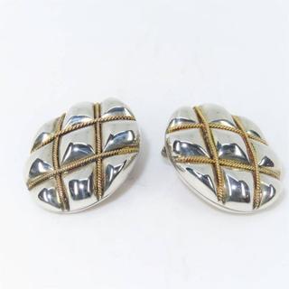 Tiffany & Co. - ティファニー 楕円モチーフ イヤリング SV925×750YG