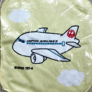 ジャル(ニホンコウクウ)(JAL(日本航空))のJAL タオル タオルハンカチ 飛行機 BOEING787-8 新品 ジャル(ハンカチ)