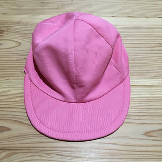カラー帽子 ピンク&イエローリバーシブル(帽子)