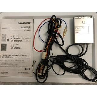 パナソニック(Panasonic)のパナソニック ETC CY-ET909D Panasonic ジャンク 説明書付(ETC)