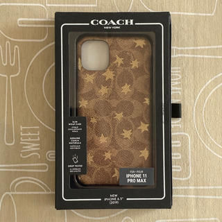 コーチ(COACH)のiPhone 11 pro Max COACH コーチiPhoneケース 新品(iPhoneケース)