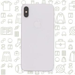 アイフォーン(iPhone)の【C】iPhoneX/256/au(スマートフォン本体)