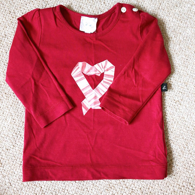 agnes b.(アニエスベー)の美品 アニエスベー ベビー 長袖 キッズ/ベビー/マタニティのベビー服(~85cm)(シャツ/カットソー)の商品写真