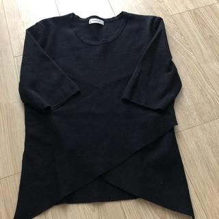 フレイアイディー(FRAY I.D)のニット(Tシャツ(半袖/袖なし))
