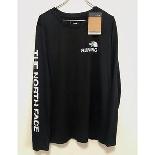 ザノースフェイス(THE NORTH FACE)のThe North Face 袖ロゴ長袖T 速乾性 ブラック黒 XL/LL(カットソー(長袖/七分))