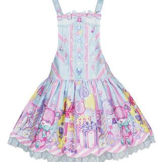 アンジェリックプリティー(Angelic Pretty)のangelic pretty toy doll box サロペット サックス(その他)