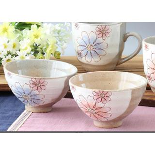 フランフラン(Francfranc)の新品 美濃焼 茶碗 ペア 皿 陶器 ZARA H&M(食器)
