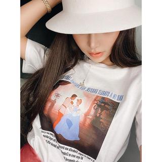 エイミーイストワール(eimy istoire)の♡eimyエイミー♡ シンデレラ ドレス Tシャツ♡(Tシャツ(半袖/袖なし))