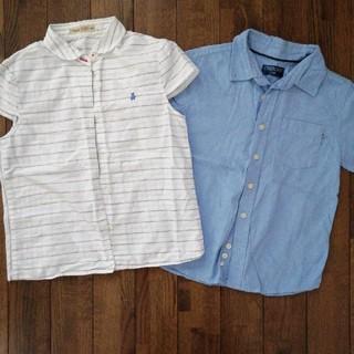 familiar - 夏用 綿素材シャツ 女の子用 130〜140