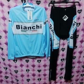 ビアンキ(Bianchi)のイタリアの風Bianchi🚲サイクルジャージL(ウエア)