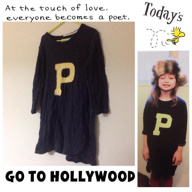 GO TO HOLLYWOOD(ゴートゥーハリウッド)のP♡ワンピース キッズ/ベビー/マタニティのキッズ服女の子用(90cm~)(ワンピース)の商品写真