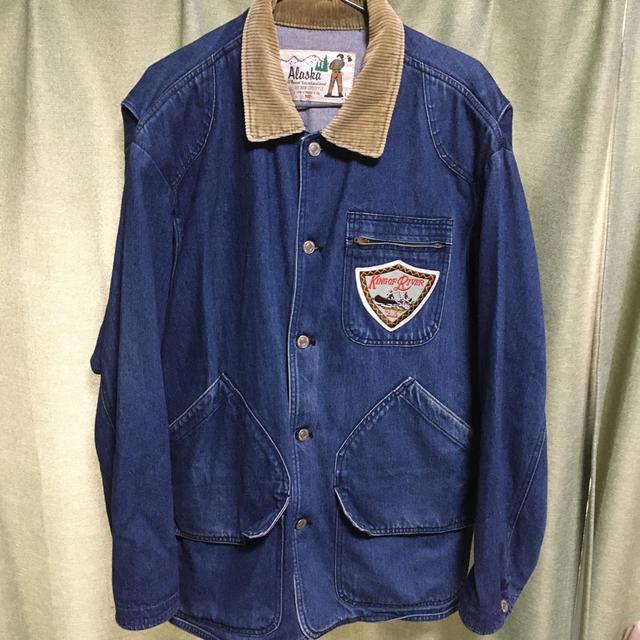 Levi's(リーバイス)のリーバイス アラスカ デニム ハンティング ジャケット ビンテージ 80s メンズのジャケット/アウター(Gジャン/デニムジャケット)の商品写真
