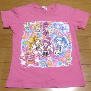 バンダイ(BANDAI)のバンダイ ハピネスチャージプリキュア Tシャツ サイズ130 <437>(Tシャツ/カットソー)