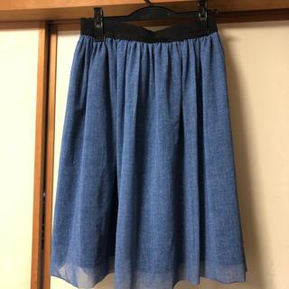 ドアーズ(DOORS / URBAN RESEARCH)の膝丈チュールスカート アーバンリサーチドアーズ(ひざ丈スカート)