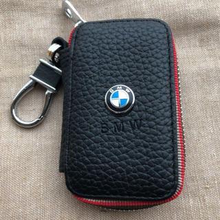 BMW スマートキーケース レッド刺繍(キーケース)